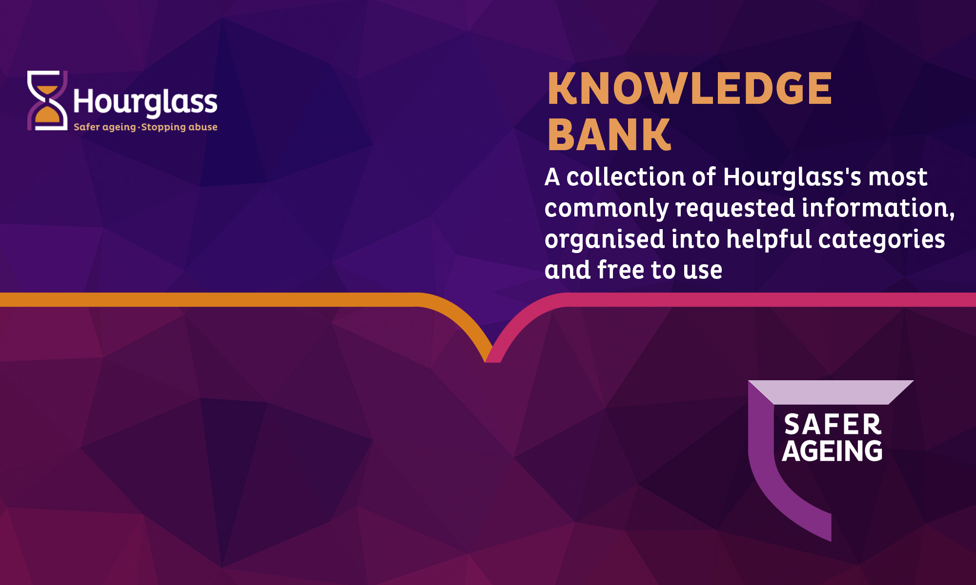 hourglass Knowledge Bank banner